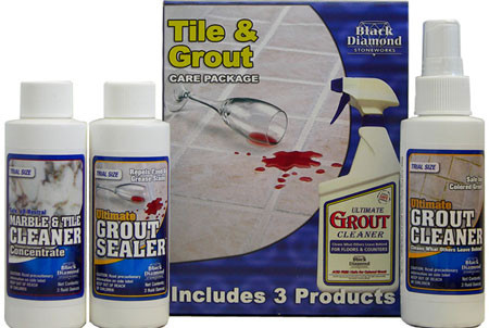 Tile & Grout Care kit