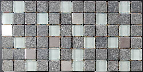 Metal Glass Marble Combo I