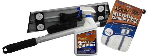 Wow Hardwood Floor Cleaning System Kit Hardwood Care Kit